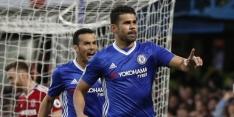 Chelsea veegt Middlesbrough aan de kant en kan de titel ruiken