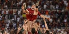Clubicoon Totti stopt en krijgt een nieuwe rol bij AS Roma