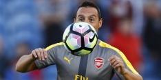 Cazorla nog maanden 'out', weer prijs voor Cech