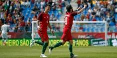 Vrije trappen Moutinho helpen Portugal aan zege op Cyprus