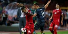 Groep D: Servië koploper na remise tegen Wales