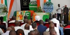 Emotioneel en heftig afscheid van Tioté in Ivoorkust