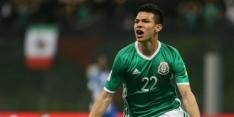 Kersvers PSV'er Lozano krijgt basisplaats bij Mexico