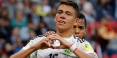 Moreno start bij Mexico, Duitsland weer zonder Younes