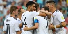 Duitsland groepswinnaar, ook Chili door na gelijkspel