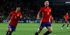 Weergaloze Saúl dirigeert Spanje naar de EK-finale