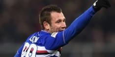 Draaikont Cassano levert contract tóch in bij Hellas Verona