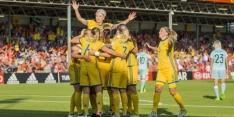 Zweedse voetbalsters boeken tegen Rusland eerste EK-zege