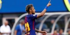 Neymar blijft koel onder hete geruchten en steelt de show
