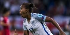 Engelse en Spaanse vrouwen plaatsen zich voor kwartfinale
