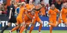 Oranje-vrouwen spelen tweede kwalificatieduel in Nijmegen
