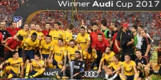 Atlético Madrid wint Audi Cup na penalty's tegen Liverpool