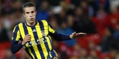 Van Persie en Fener spelen laat gelijk tegen Trabzonspor