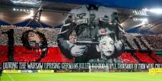 Legia Warschau kan straf verwachten voor 'Nazi-spandoek'