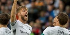 Ajax-tegenstander Rosenborg rekent pas laat af met Molde