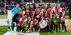 Johan Cruijff Schaal prooi voor Feyenoord na penalty's