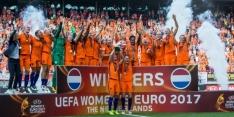 Oranje-vrouwen treffen Denen in eerstvolgende wedstrijd