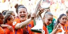 Vijf Oranje Leeuwinnen in sterrenelftal van UEFA