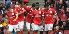 Buitenland: Benfica bekert verder, Charleroi morst