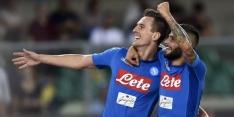Napoli kent mede dankzij goal Milik goede seizoensstart