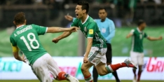 Mexico scoort weer eens en verslaat Schotland
