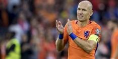 Robben passeert Cruijff en Lenstra op topscorerslijst Oranje