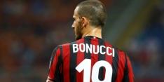 "Bonucci na remise: ""Ontbreekt Milan enigszins aan karakter"""