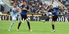 Internazionale wint, Real Sociedad koploper in Spanje