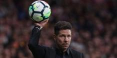 Atlético speelt weer gelijk en moet vrezen voor missen CL-voetbal