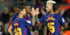 Barcelona wint dankzij eigen goal, Juve klopt Olympiakos