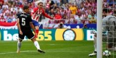 Atlético klopt Sevilla en rukt op naar tweede plaats