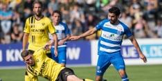 Leemans redt ook tegen PEC Zwolle punt voor VVV-Venlo