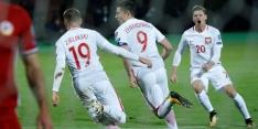 Groep E: Lewandowski zet Polen op rand van WK-ticket