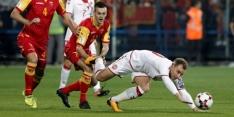 Montenegro beboet en duel zonder publiek na racisme van fans