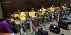 Zuurstofmaskers bij Brazilië na 'onmenselijke' situatie