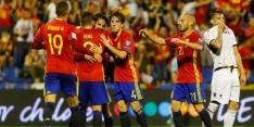 Groep G: Spanje plaatst zich voor WK, gelijkspel Italië