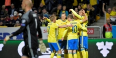 WK-deelname Oranje schier kansloos na Zweedse monsterzege