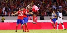 Costa Rica dankzij kopbal in 95ste minuut naar WK 2018