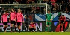 Groep F: Schotse WK-droom spat in Ljubljana hard uiteen