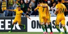 Cahill én paal redden Australië in play-off tegen Syrië