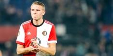 Van Beek bankt bij oefenpot Feyenoord tegen nieuwe club Cocu