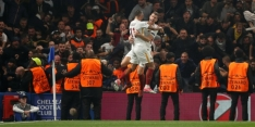 """Roma vecht en pakt punt bij Chelsea: """"Geweldige avond"""""""
