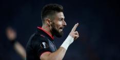 Groep H: Giroud helpt Arsenal met wereldgoal aan zege