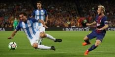 Arbitrale dwaling helpt Barcelona in zadel tegen Málaga