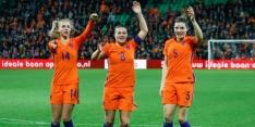 Oranje met wat geluk in extremis langs stug Noorwegen