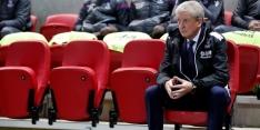 """Palace slaat modderfiguur: """"Zwaar teleurgesteld in de spelers"""""""