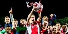 Jong Ajax-captain Bergsma kiest voor contract bij AZ