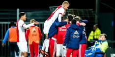 """Jong Ajax viert periodetitel: """"Natuurlijk zijn de spelers blij"""""""