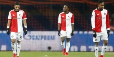 Feyenoord uitgeschakeld na vierde nederlaag in CL