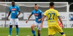 Koploper Napoli verliest punten, winst Juventus en Roma